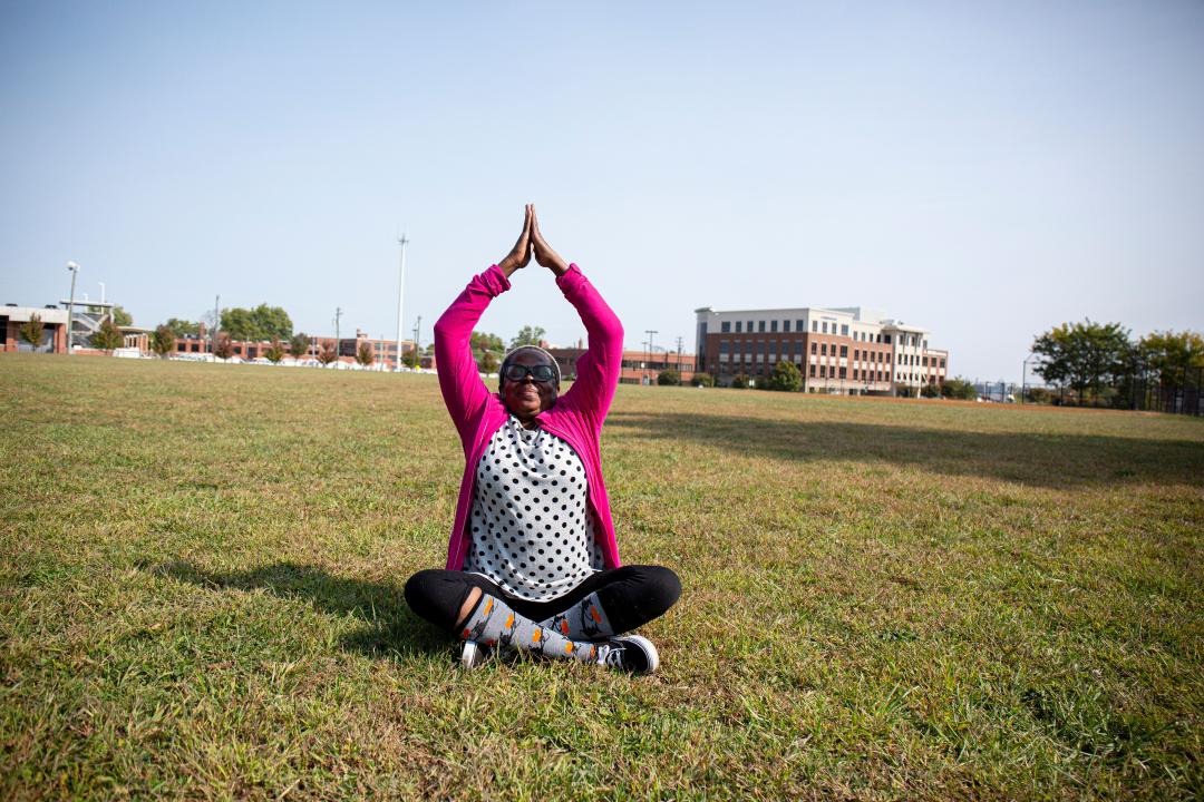 tobacco free, yoga, meditation, mindfulness, relaxation,